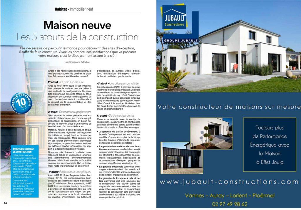 JUBAULT CONSTRUCTIONS MORBIHAN Constructeur Morbihan Ocotbre 2019 106