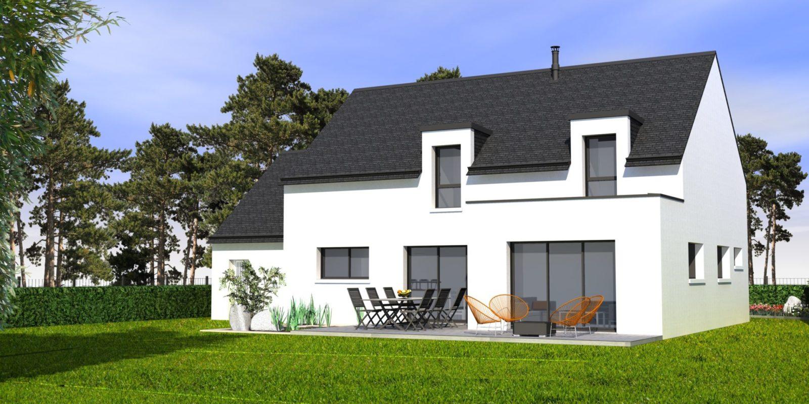 Maison contemporaine BRECH